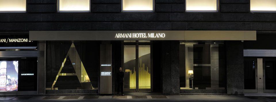 armani hotel a milano